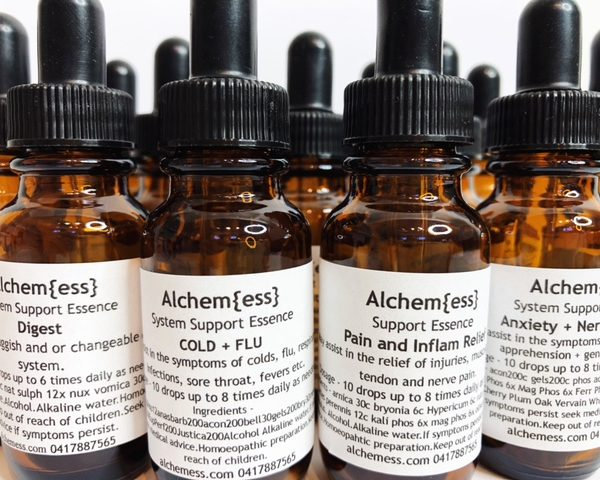 Homoeopathic Support Essence Formulas
